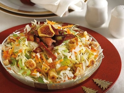 Traditional cabbage salad