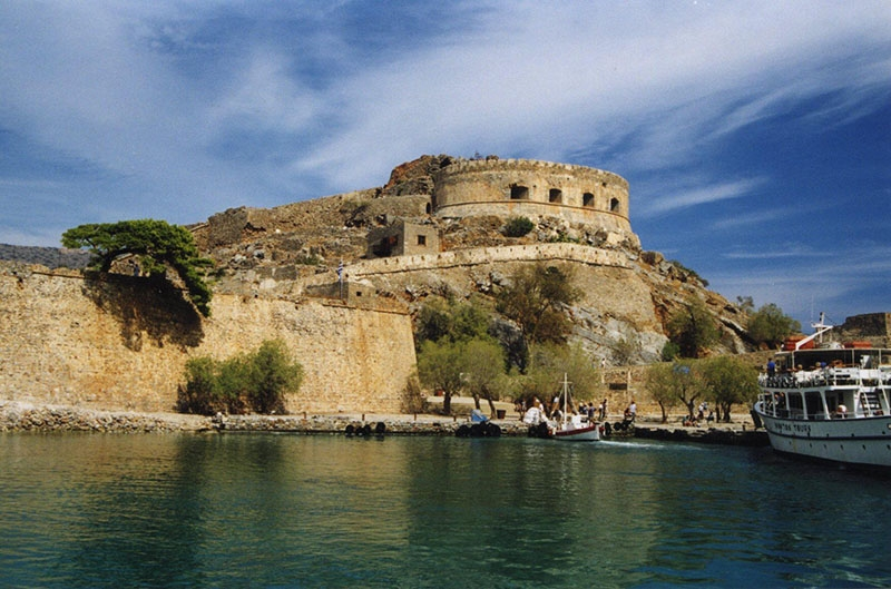 The Venetian fortifications Spinalonga